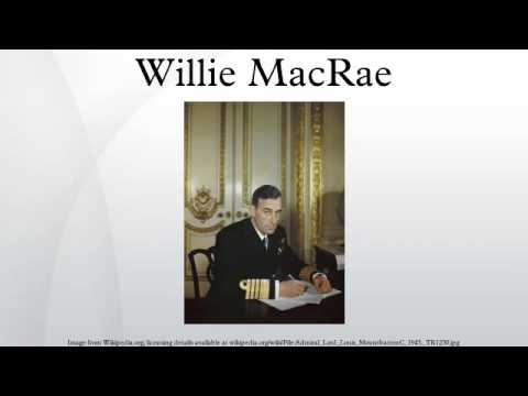 Willie MacRae