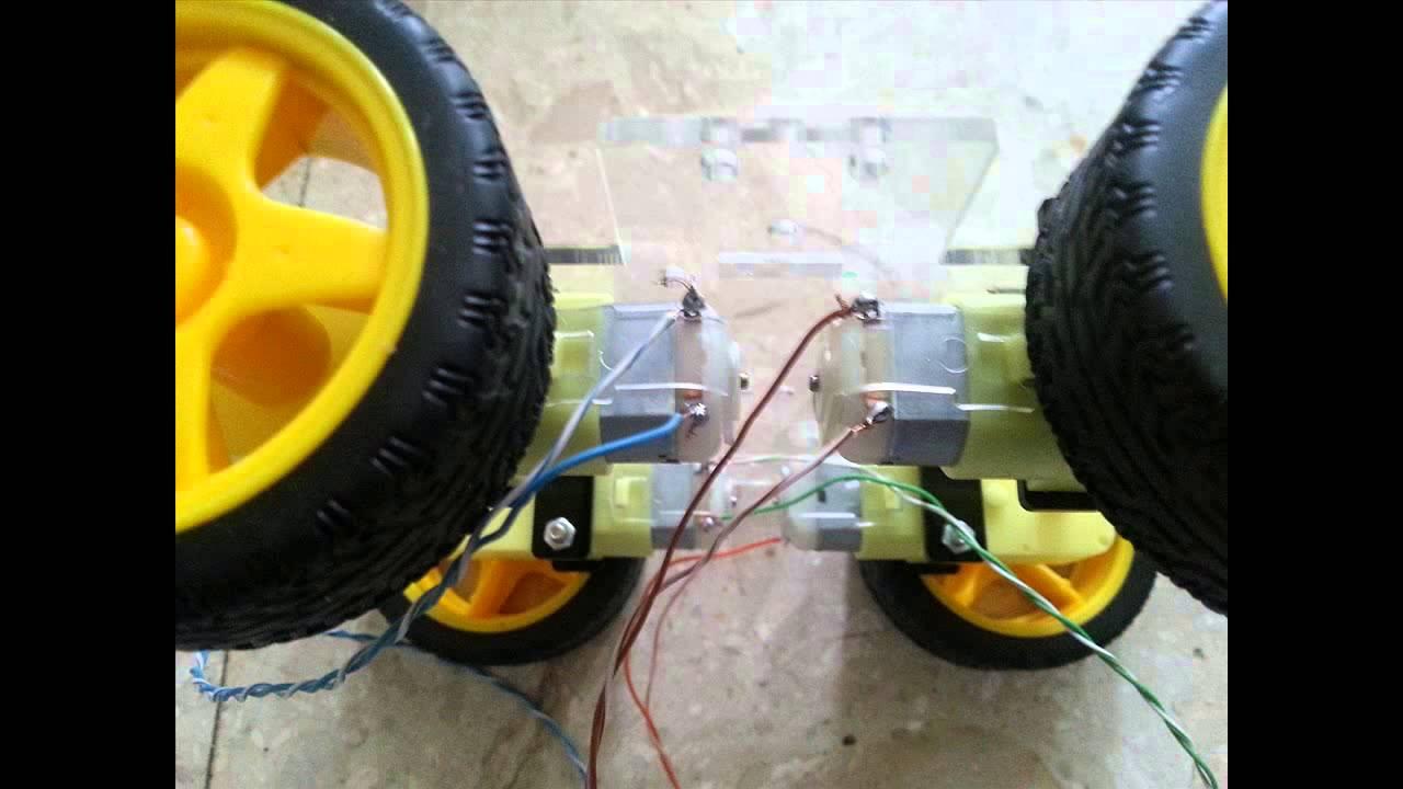4wd - four wheel drive arduino smart car robot platform part 2 - YouTube