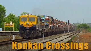 Colourful crossings Collection from Konkan Railway thumbnail