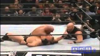 WrestleMania 20-Goldberg vs Brock Lesnar-Special Guess Ref. Stone Cold-Highlights HD