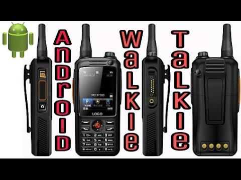 walkie talkie on android phone