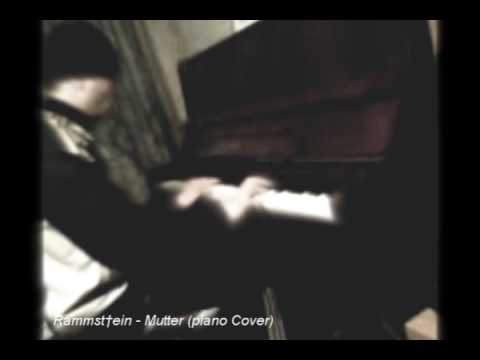 NEW! Rammstein - Mutter (Piano Cover)