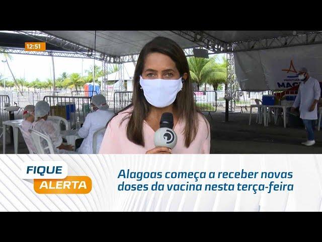 Covid-19: Alagoas começa a receber novas doses da vacina nesta terça-feira