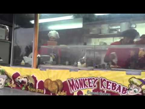 Monkey Kebab Truck Woodstock Colmito 2015