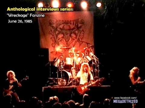 Megadeth - Wreckage Fanzine, June 1985 [Anthological Interviews Series]