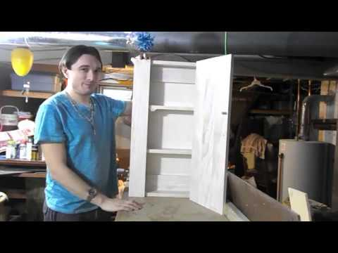 Making a Wooden Medicine Cabinet