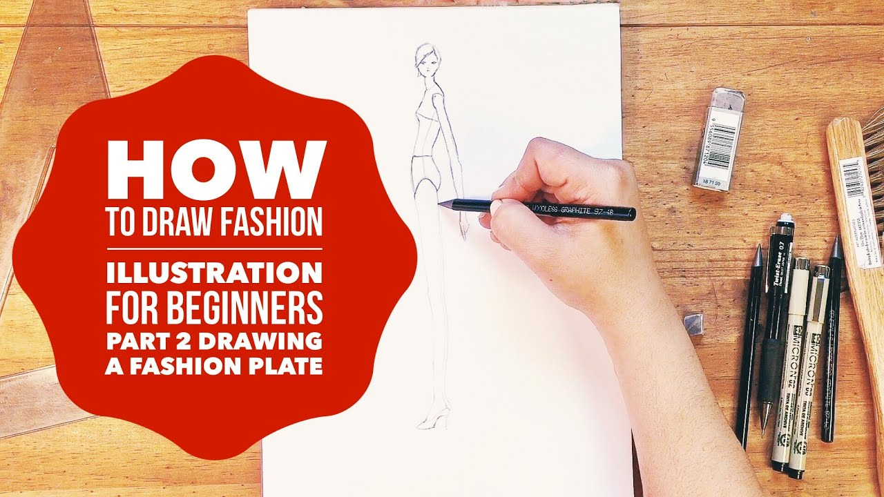 how to draw fashion illustration for beginners