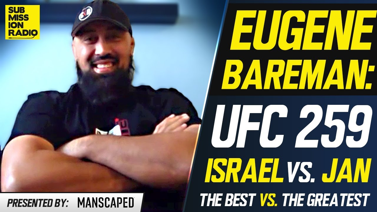 """Israel Adesanya's Coaches: Jan Blachowicz """"Makes The Hair on The Back of Our Neck Stand Up"""" UFC 259"""