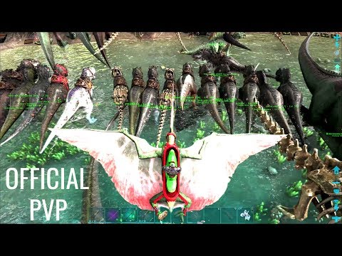BETA BROODMOTHER (New) w/ Dino Breeding - Official PVP (E144) - ARK Survival