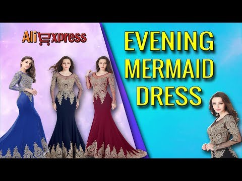 Real Kaftan Dubai Black Long Sleeved Mermaid Evening Dresses 2018