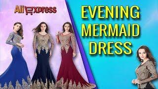 Real Kaftan Dubai Black Long Sleeved Mermaid Evening Dresses 2018 - #AliExpress #AliAddict