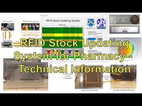 RFID Stock Updating System for Pharmacy - Technical information