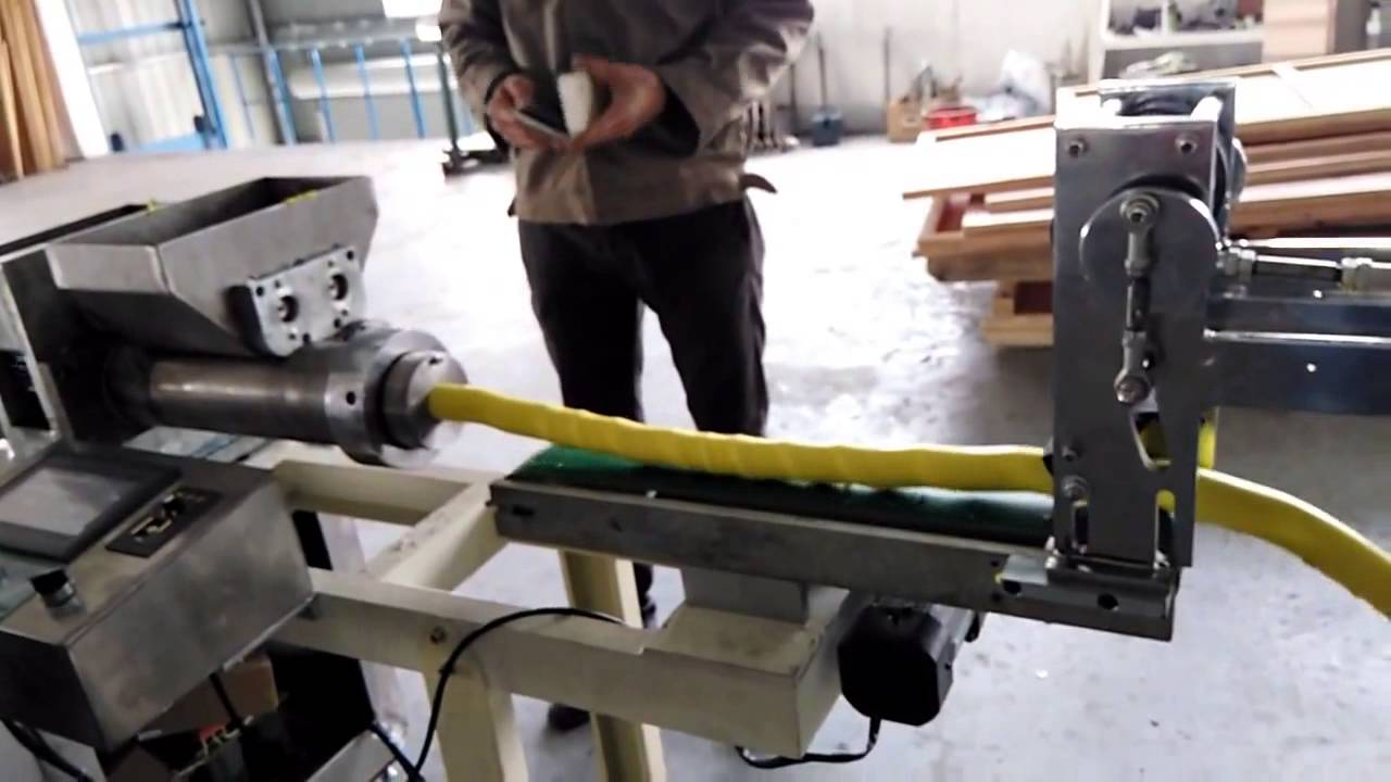 Play dough extrusion machine ,modeling clay extruding machine,light clay  extruder - YouTube