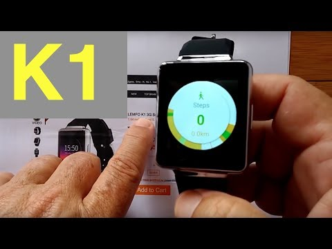 LEMFO K1 Android 5.1 Square Smartwatch: Unboxing and 1st Look