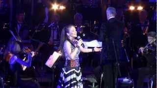 Марина Девятова и симфонический оркестр.Ой то не вечер