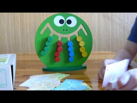 Логическая игра Лягушка   Краснокамская игрушка