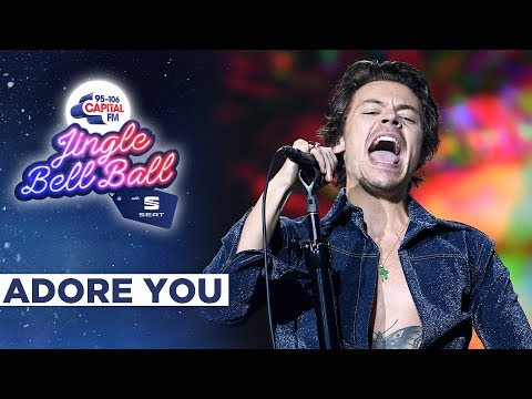 Harry Styles - Adore You  at Capital&39;s Jingle Bell Ball 2019  Capital