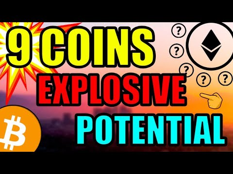 Top 9 Most EXPLOSIVE Cryptocurrency Coins For 2021! ETHEREUM POTENTIAL \u0026 Low Cap Altcoins!!!