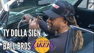 TY DOLLA $IGN Flipping Switches Asked If All 3 Ball Brothers will Be on the Los Angeles Lakers