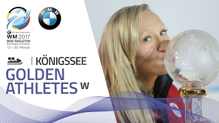 Kaillie Humphries leads the pack | BMW IBSF World Championships 2017