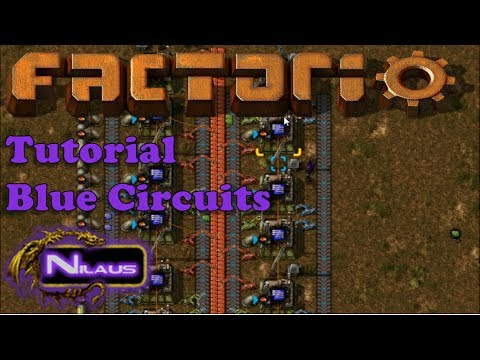 Factorio Tutorial - 15  Blue Circuits