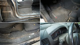Restoring 11 Year Old Car Interior That's Never Been Cleaned