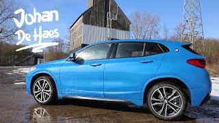 BMW X2 Misano Blau M Sport model & M Sport Pack/ Walkaround / Exterior / Interior