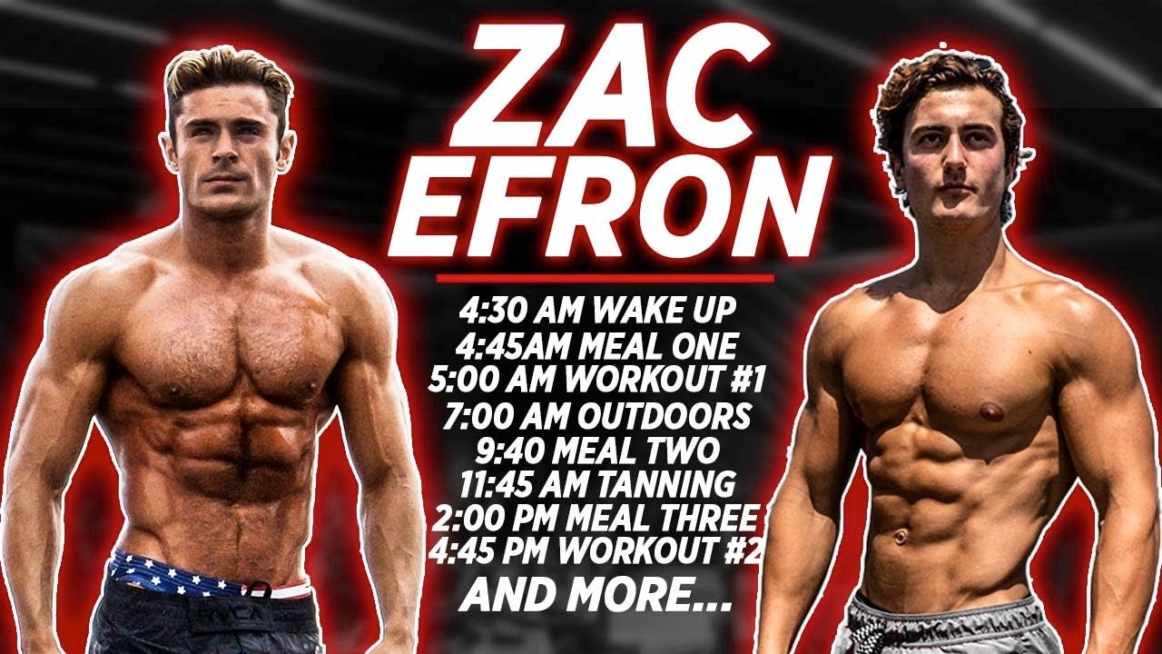 LIVING LIKE ZAC EFRON FOR 24 HOURS CHALLENGE...