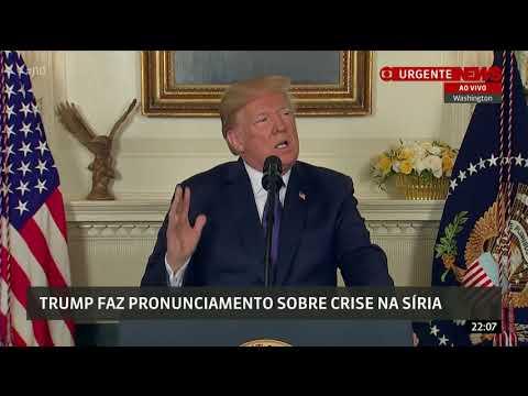 Trump anuncia ataque em conjunto com França e Reino Unido na Síria