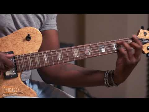 "Isaiah Sharkey plays D'angelo's ""Sugah Daddy"" on a Fodera Imperial Custom 