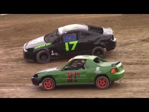 Mini Stock Heat One | Old Bradford Speedway | 8-13-17
