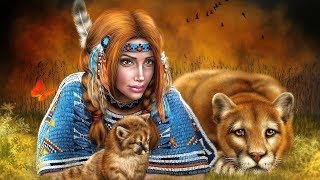 Native American Music For Sleep - Meditation Music, Shamanic Flute Sleep Music