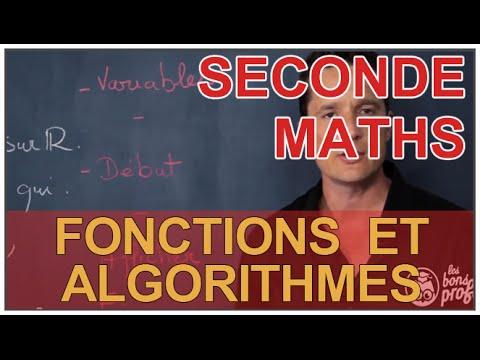 Fonctions et algorithmes