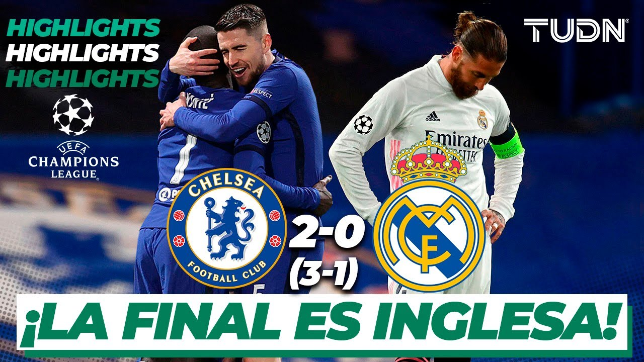 Highlights   Chelsea 2(3)-(1)0 Real Madrid   Champions ...