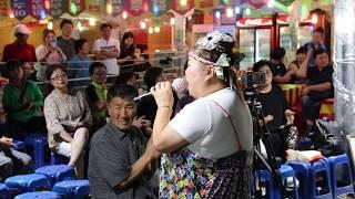 홍단이품바 아모르 파티 어쩌다 마주친 그대 엉덩이 빽댄서 일산 해수욕장 0705