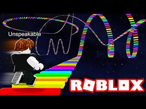 WORLDS FASTEST RAINBOW ROBLOX OBBY RUN!