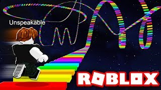 WORLD'S FASTEST RAINBOW ROBLOX OBBY RUN!
