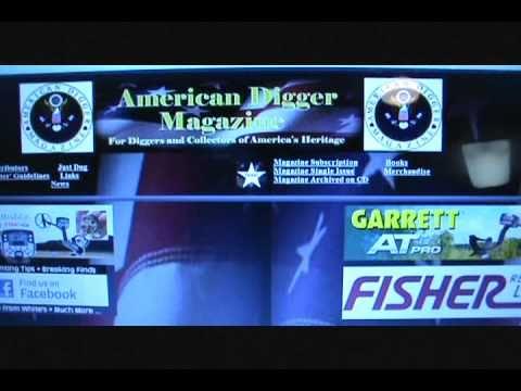American Digger Magazine !