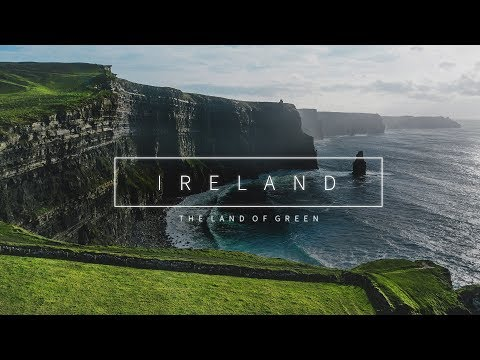 IRELAND - The Land Of Green (Aerial Drone 4K)