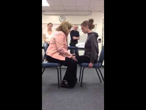 NDT Facilitation of Sit to Stand