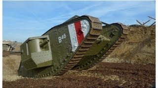 War Horse - Replica WWI Mark IV - Male Tank Build