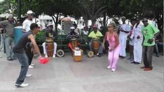 Santiago de Cuba - Rumba in the park April 14 2012