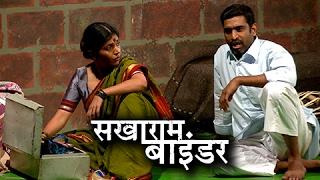 Sakharam Binder Marathi Natak   Glimpses, Interview   Mukta Barve, Sandeep Pathak   Natyaranjan