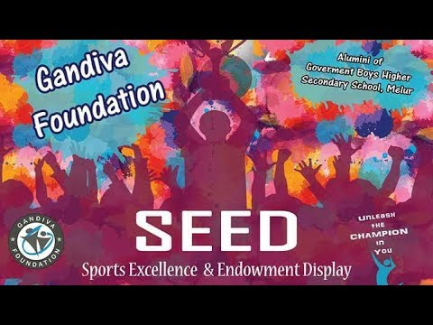 SEED (Sports Excellence & Endowment Display) program - Gandiva Foundation
