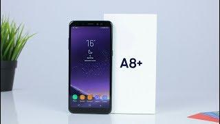 فتح علبه وتجربه اول يوم مع | Galaxy A8 Plus 2018