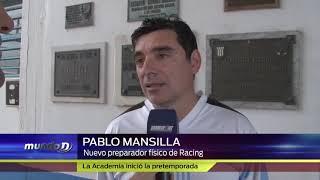 Pablo Mansilla Nuevo Preparador Físico de Racing