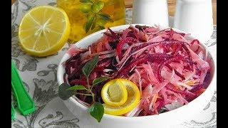 ЛЁГКИЕ САЛАТЫ из овощей с оливковым маслом для похудения!