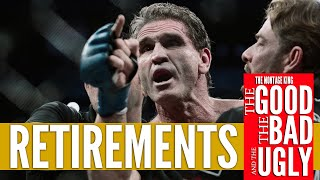 Retirements in MMA, The Good, the Bad and the Ugly