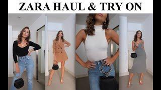 ZARA HAUL & TRY ON | *NEW IN FALL FASHION*