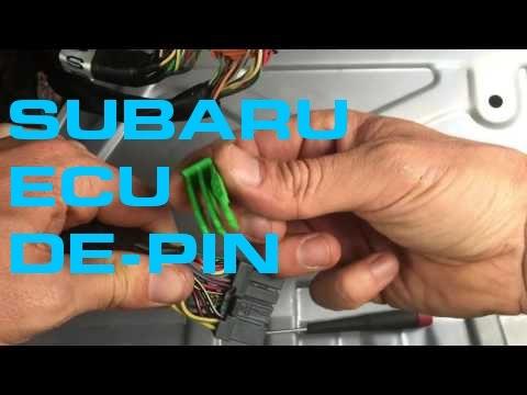 Subaru ECU De-Pin - 3 Connector ECU